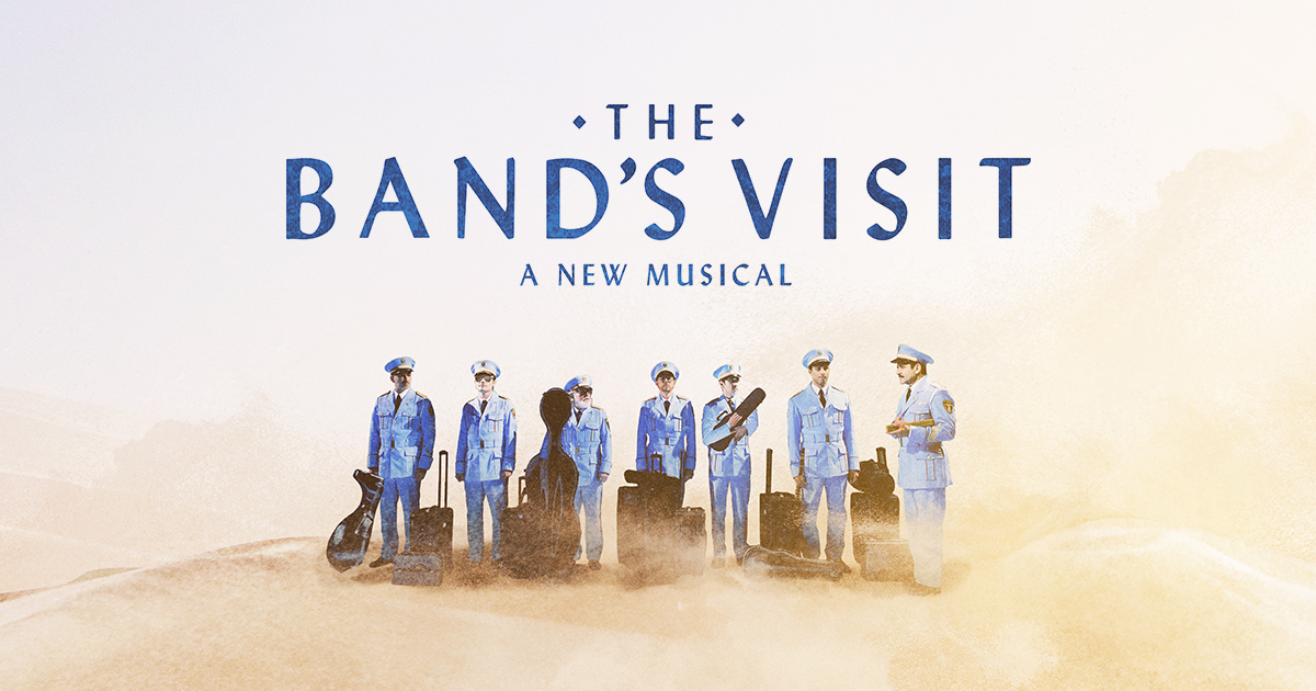 Image result for the band visit broadway logo